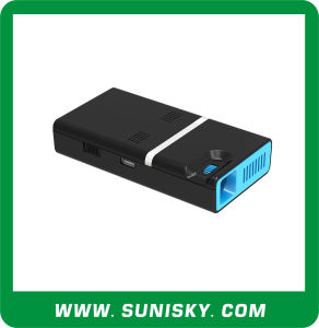 Pico Projector LED Android Phone Projectors with WiFi Bluetooth for Children Education (SMP8150) pictures & photos