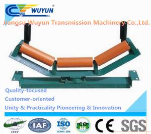 Trough Self-Aligning Idler Frame, Belt Conveyor Steel Idler Roller pictures & photos