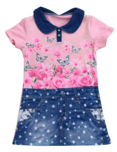 Fashion Kids Girl Vest in Children Clothes & Knit Vest with Cat (SV-012) pictures & photos