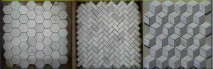 Mosaic, White Mosaic, Marble Mosaic. Stone Mosaic, Mosaic Tile pictures & photos