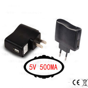5V 500mA USB Charger for Home Travel Smart Phone/MP3/MP4/MP5/ pictures & photos