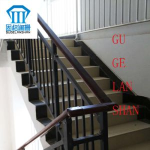 High Quality Created Wrought Zinc Steel Stair Handrail 008 pictures & photos