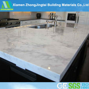 High Quality White Quartz Solid Artificial Marble for Countertops pictures & photos