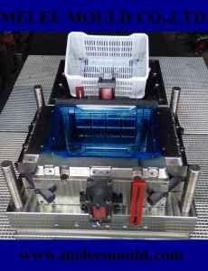 Plastic Injection Milk Crate Mould pictures & photos
