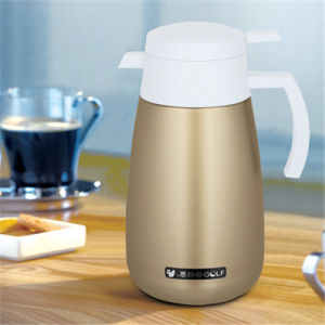 Stainless Steel Double Wall Coffee Pot pictures & photos