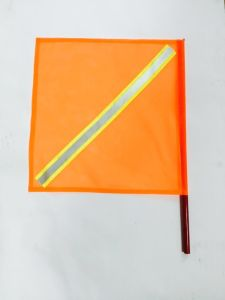 Traffic Warning Flag with with Reflective Tape, 18-Inch by 8-Inch pictures & photos