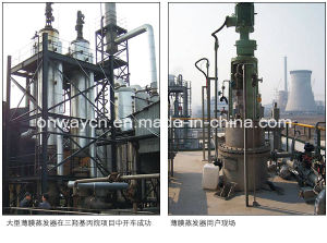High Efficicent Energy Saving Stainless Steel Titanium Vacuum Film Evaporator Crystallizer pictures & photos