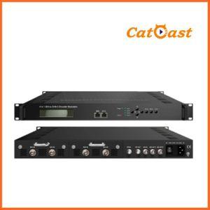 4-Channel HDMI to DVB-C Modulator (4xHDMI input DVB-C output) pictures & photos