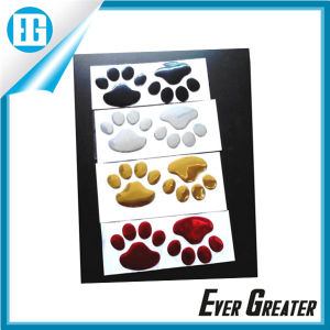 Customized Nickel Embossed Sticker 3D PVC Sticker pictures & photos