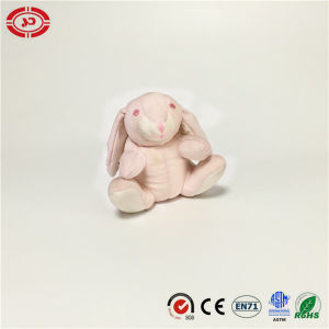 Pink Soft Sitting Rabbit Stuffed Foam Beads Custom Toy pictures & photos