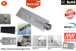 60W All in One Solar LED Streetlight with High Brightness