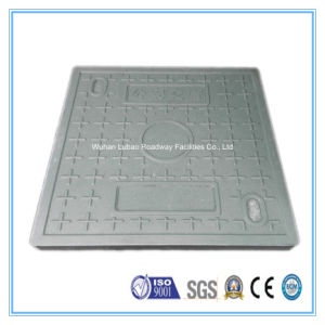 En124 B125 700X750mm Square Composite Manhole Top