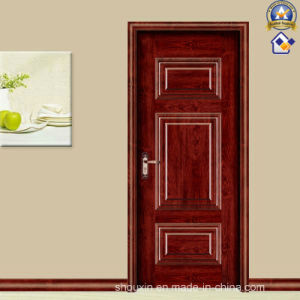 The Hot Red Spell Wooden Steel Door (sx-24-1082A) pictures & photos