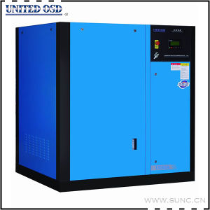45kw Low Pressure Rotary Screw Air Compressor for Glass Industry