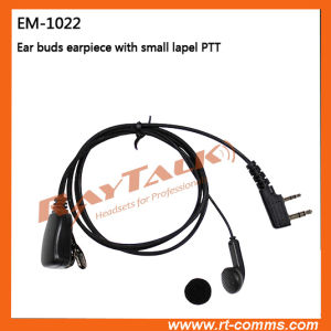 Earbud Earpiece for Kenwood 2 Pin Radios pictures & photos