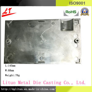 Common Used Precise Aluminum Alloy Die Casting Satellite Dish Cover pictures & photos