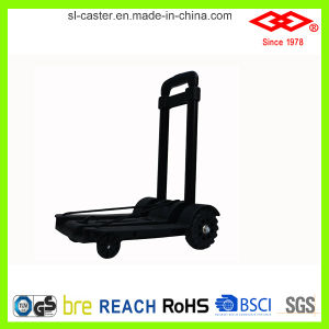 50kg Durable Four-Wheel Foldable Baggage Hand Cart (LH03-50) pictures & photos