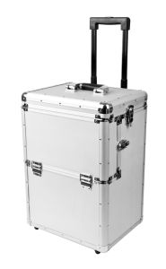 OEM Aluminum Luggage Tool Trolley Case with Wheels and Rod pictures & photos