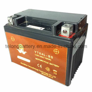 12V4ah Rechargeable Maintenance Free Motorcycle Battery pictures & photos