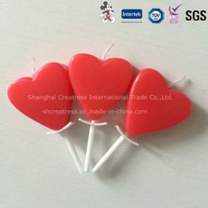 China Wholesale Red Heart Shaped Candle pictures & photos