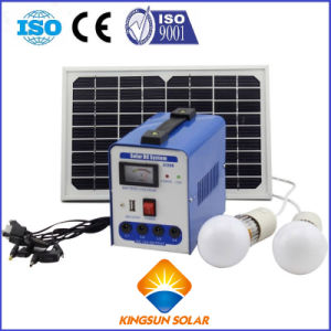 50W DC Home Portable Solar Power System pictures & photos