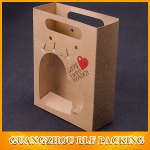 Recycled Brown Kraft Paper Bags pictures & photos