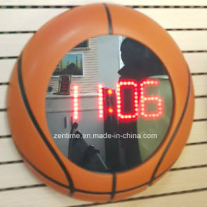 Electronic Basketball Frame LED Display Clock pictures & photos