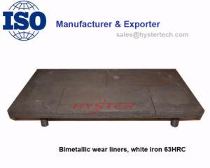 Bucket Wear Liners White Iron Bimetallic 63HRC pictures & photos