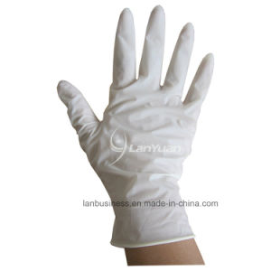 Ly Disposable Medical Latex Surgical Gloves pictures & photos