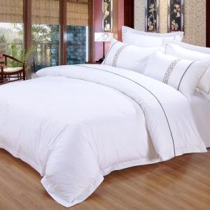 Luxury Hotel 4PCS King Size Cotton 330tc Satin Bedroom Set (JRD940)