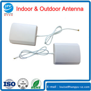 Indoor White Wall Mount 2.4G WiFi Antenna Panel Aerial SMA Male pictures & photos