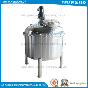 Sanitary Double Layer Jacketed Stainless Steel Liquid Juice Mixing Tank pictures & photos