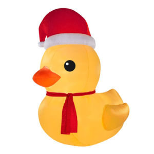 Holiday Decoration Character Display in The Garden Inflatable Duck pictures & photos