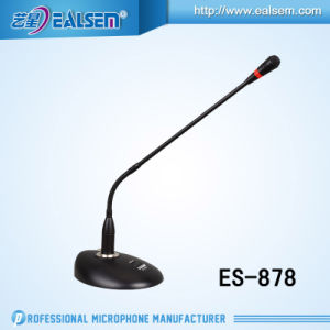 Microphone Es-878 for Meeting and Speech Wire Gooseneck Condenser pictures & photos