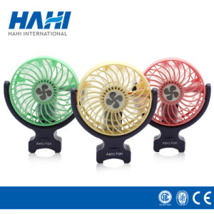 Mini USB DC Electric Plastic Fan Cooling Computer Table Fan pictures & photos