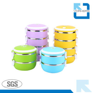 Multi-Layers Stainless Steel Thermal Lunch Box pictures & photos