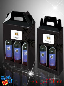 Single Bottle Wine Box /Red Wine Packaging Box Wholesale pictures & photos
