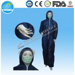 Disposable Reflective Safety Coverall for Workers pictures & photos
