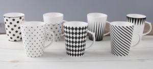 Wholesale 12oz Ceramic V Shaped Coffee Mug with Logo pictures & photos