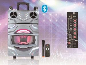 Portable Trolley Speaker Battery Speaker F10-21 Bluetooth Speaker pictures & photos