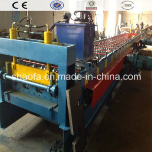 1025decking Floor Making Roll Forming Machine pictures & photos
