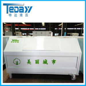 Moving Stainless Steel Dustbin From Origin Factory pictures & photos