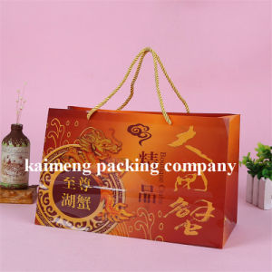 Four Color Printed Woman Garment Plastic Folding PVC Bags (plastic PVC bags)