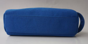 Good Quality Blue Canvas Cosmetic Bag pictures & photos