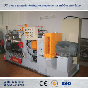 Heavy Duty Two Roll Mixing Mill Machine with Bearings pictures & photos