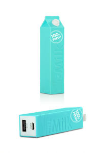 New Fresh Milk Design 2600mAh Mobile Portable Power Bank Universal pictures & photos