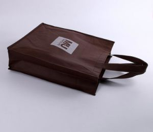 Brown Non Woven Shopping Bag with Your Printing pictures & photos