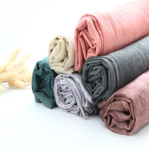 Hot Muslim Crumple Dirty Wash Scarf Shawl pictures & photos