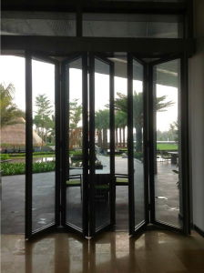 Arc-Shaped Glass Partition Wall for Hotel pictures & photos