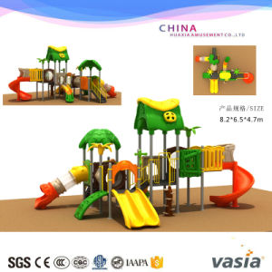 2015 Vasia Nature and Climbing Colorful Playground Equipment pictures & photos